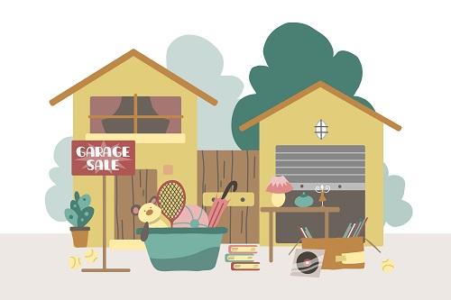 black friday garage sale
